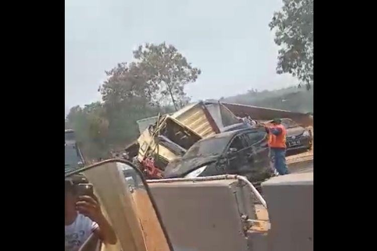 Kecelakaan beruntun tol Cipularang yang kembali viral di media sosial ternyata terjadi pada 2 September 2019.