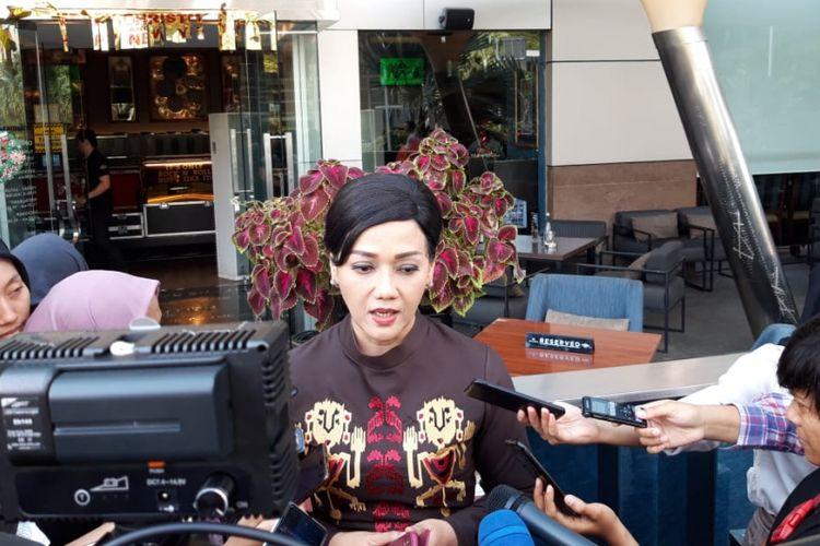 Direktur Utama KSEI Friderica Widyasari Dewi