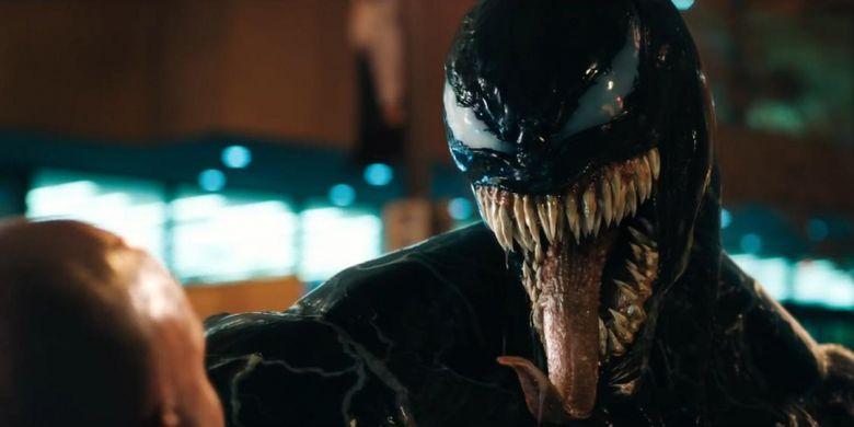 Adegan dalam film Venom