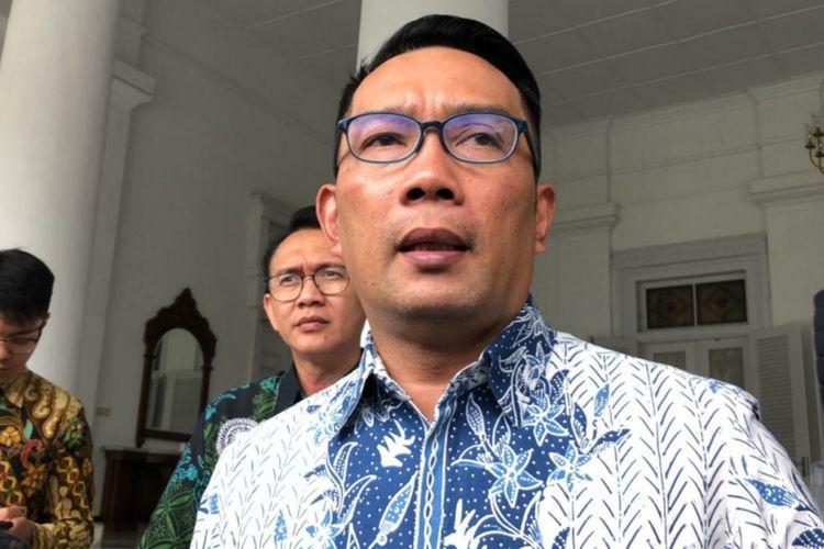 Gubernur Jawa Barat Ridwan Kamil saat ditemui di Gedung Pakuan beberapa waktu lalu.