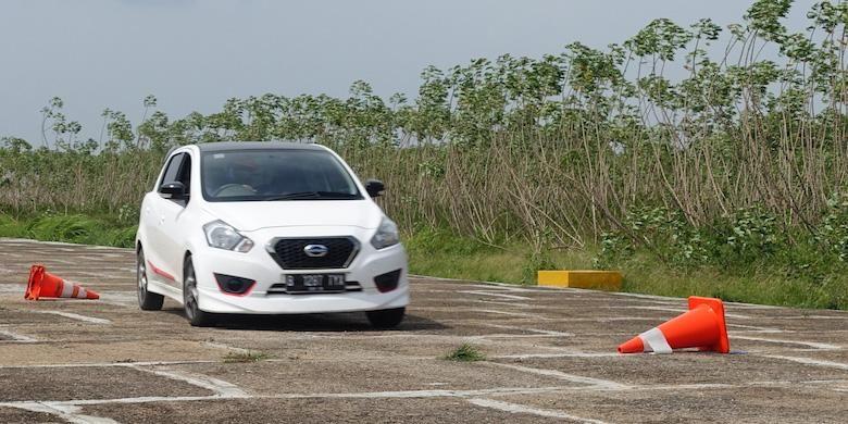 Datsun Indonesia menguji performa Datsun lewat berbagai kegiatan.