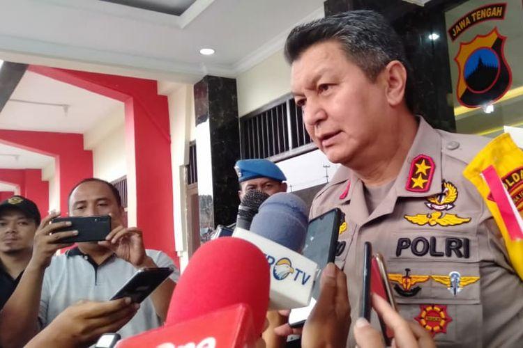 Kapolda Jateng Irjen Rycko Amelza Dahniel saat bertemu awak media di Mako Satbrimob Semarang, Sabtu (14/9/2019).