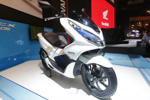 Honda PCX Listrik Masih Berstatus Disewakan