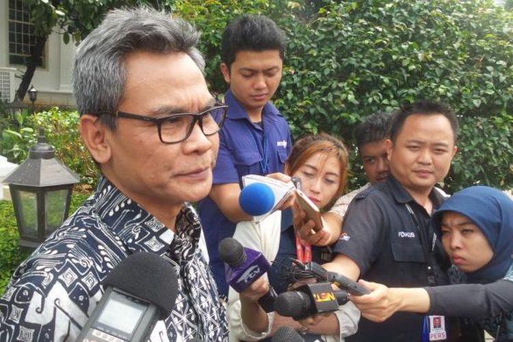 Staf Khusus Presiden Bidang Komunikasi Johan Budi Saptopribowo