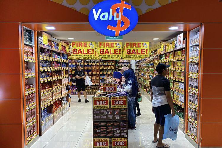 Toko Valu$ di Singapura