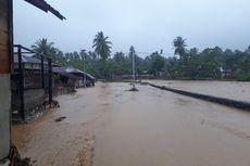 Usai Digoyang Gempa, Rumah di Halmahera Selatan Terendam Banjir
