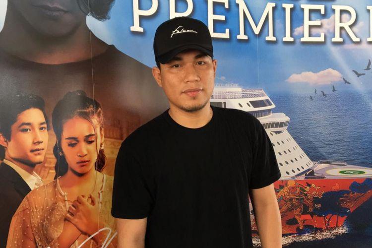 Rizal Armada saat ditemui di sela-sela rangkaian acara gala premiere film Asal Kau Bahagia di Denting Dream Cruise, Port Klang, Malaysia, Jumat (21/12/2018).