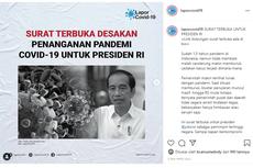 Surat Terbuka untuk Jokowi: Situasi Pandemi Covid-19 Saat Ini Sudah Genting!