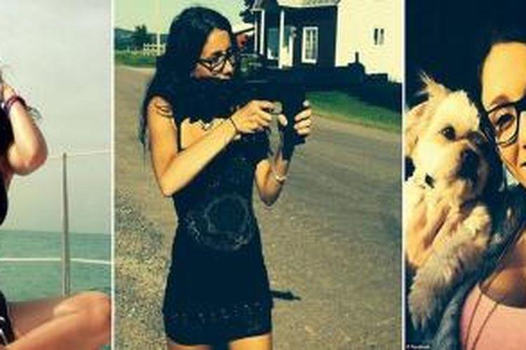 Beberapa foto seksi Stephanie Boudoin yang tersebar di dunia maya dan membuat dirinya diklaim sebagai narapidana paling seksi di dunia.
