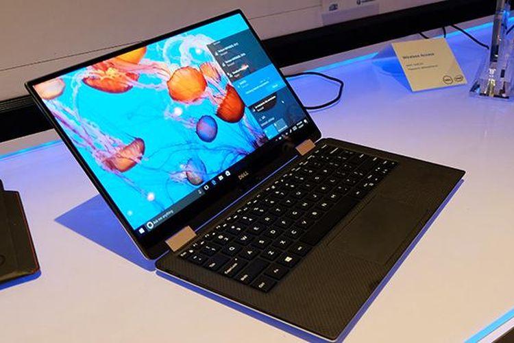 Dell XPS 13 yang dirilis di CES 2017.