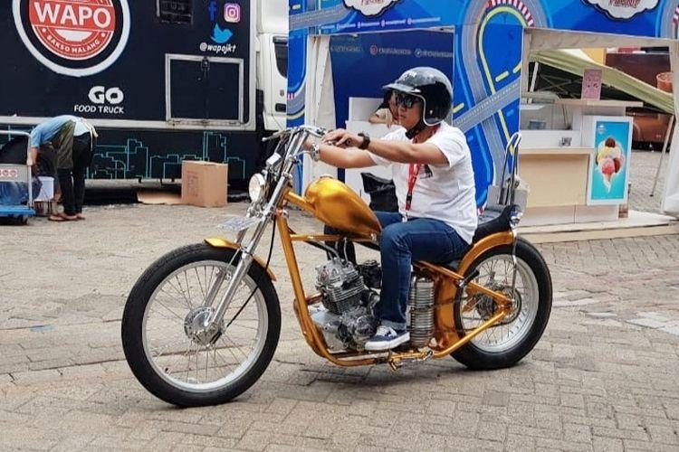 Replika chopper milik Presiden Jokowi