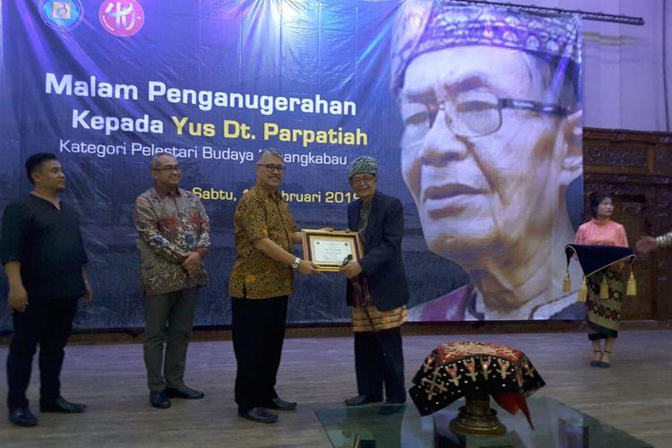 Budi Luhur Minang Festival (16/2/2019) di kampus Budi Luhur, Jakarta.