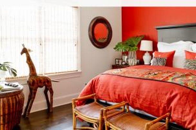 Merah Warna Keberuntungan Untuk Kamar Tidur