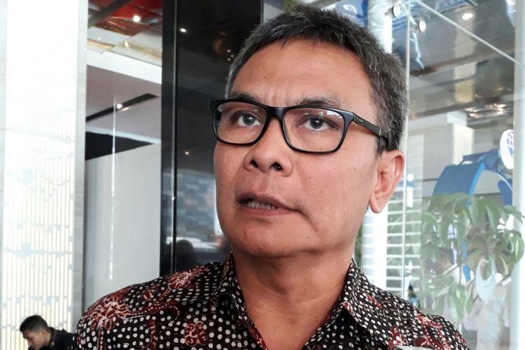 Staf Khusus Presiden bidang Komunikasi Johan Budi Saptopribowo, Senin (11/12/2017)