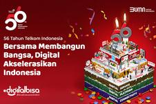 HUT Ke-56 Telkom, BUMN Ini Upayakan Kedaulatan Digital Lewat 3 Domain