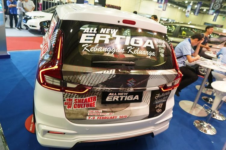 Modifikasi All New Suzuki Ertiga