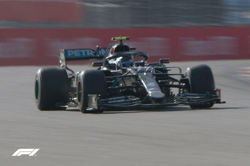 Hasil F1 GP Rusia - Hamilton Diganjar Penalti, Bottas Berjaya