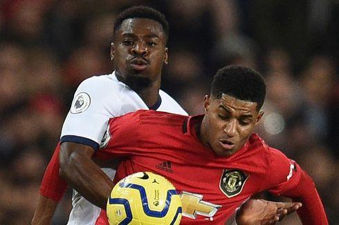 Man United Vs Tottenham, Rashford Beri Mourinho Kekalahan Pertama