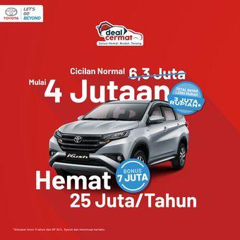 Tersedia beragam penawaran menarik buat Toyota Rush di Toyota Virtual Expo