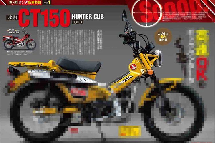 Honda dikabarkan sedang menyiapkan CT150
