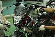 Honda Sonic 150R Pakai Strip Baru