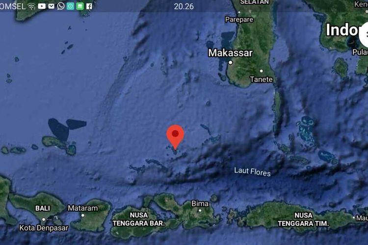 Kecamatan Liukang Tangaya, Kabupaten Pangkajene Kepulauan, Sulawesi Selatan.