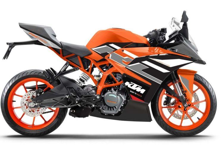 KTM tawarkan pilihan warna baru untuk RC series