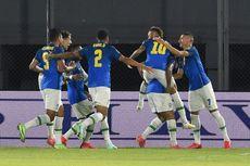 Hasil Kualifikasi Piala Dunia 2022 - Brasil Sempurna, Argentina Nelangsa
