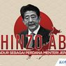 INFOGRAFIK: Profil Shinzo Abe, PM Jepang yang Mengundurkan Diri