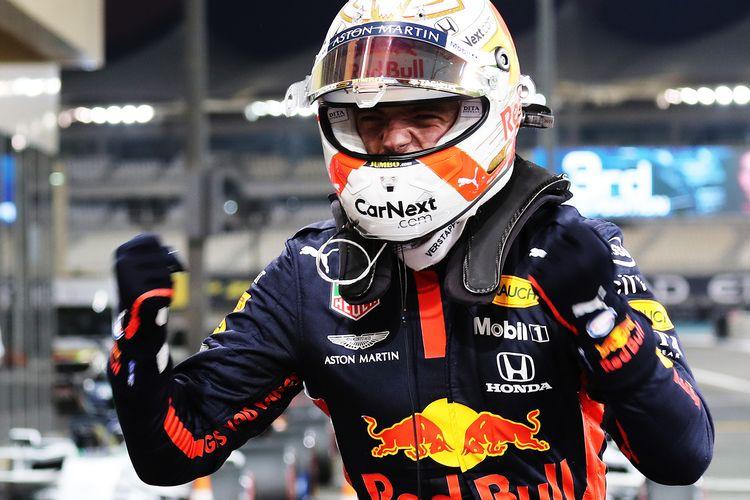 Pebalap Red Bull, Max Verstappen.
