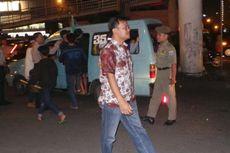 Polisi Tilang Peserta Takbir Keliling di Matraman