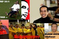Jokowi Capres, Foto Guyonan Beredar di Media Sosial