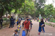 Hari Pertama Dibuka, Ragunan Dikunjungi Ribuan Warga, Banyak Orangtua Bawa Anaknya Berwisata