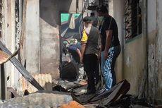 Kantor Camat dan Logistik Pemilu Gunungsitoli Terbakar, Polisi Ambil Sampel di Lokasi