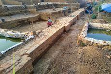 Ekskavasi Struktur Bata Kuno di Mojokerto, Diduga Dinding Penahan dari Permukiman Elite Majapahit