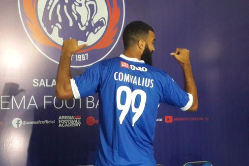 Arema FC Vs Persipura, Awal Kebangkitan Comvalius Bersama Singo Edan