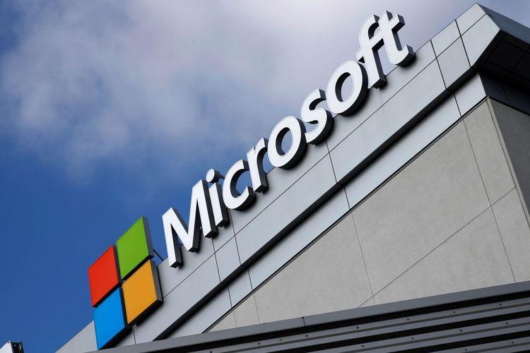 Logo di kantor Microsoft