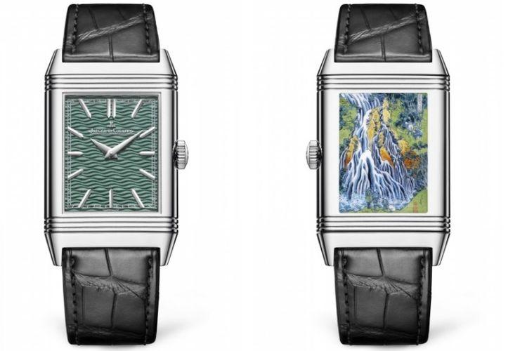 Jaeger-LeCoultre Reverso Tribute Enamel Hokusai Kirifuri Waterfall