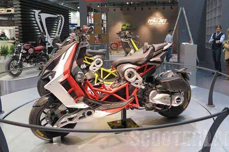Moto ikonik Italjet Dragster hadir EICMA 2018