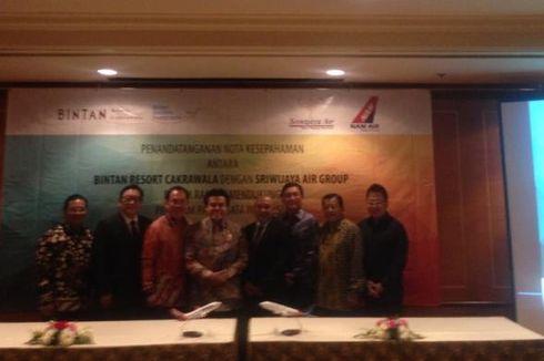 Bintan Resort dan Sriwijaya Air Jajaki Kerja Sama Pariwisata