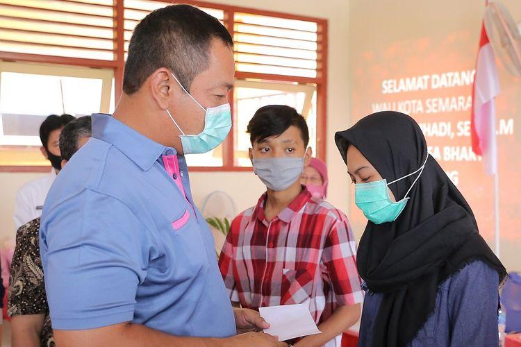 Wali Kota Semarang Hendrar Prihadi dalam salah satu kesempatan.
