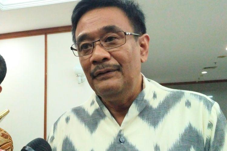 Gubernur DKI Jakarta Djarot Saiful Hidayat di Balai Kota DKI Jakarta, Jumat (21/7/2017).