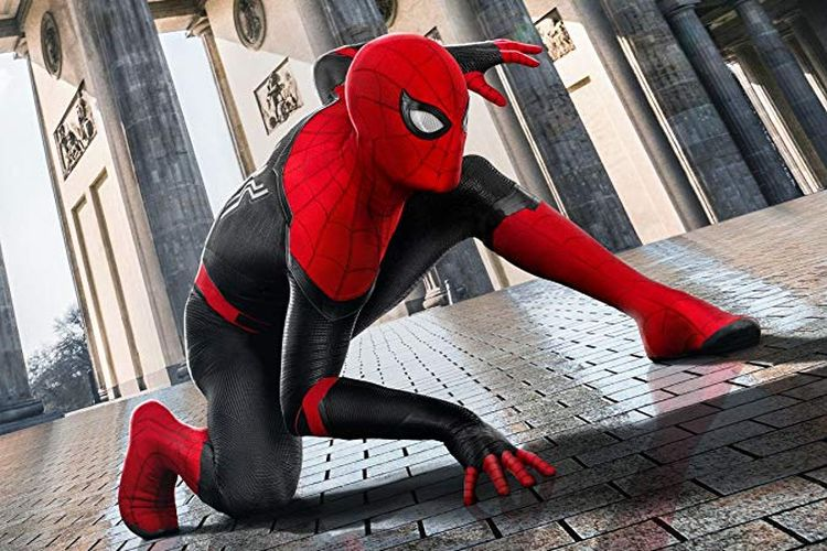 Poster film Spider-Man: Far From Home.