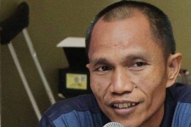 Noldus Pandin, caleg difabel untuk DPRD Kota Makassar dari Partai PSI