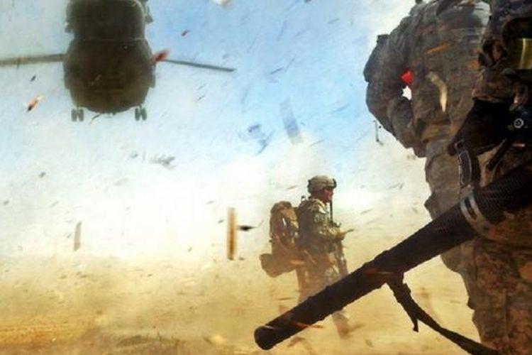 Presiden AS Barack Obama mengakhiri petualangan militer AS di Irak dan Afganistan dengan menarik lebih dari 200.000 serdadunya.