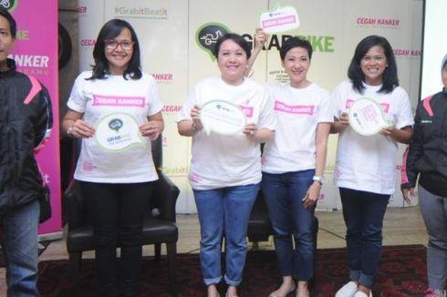 GrabBike Ikut Kampanyekan Pencegahan Kanker Payudara