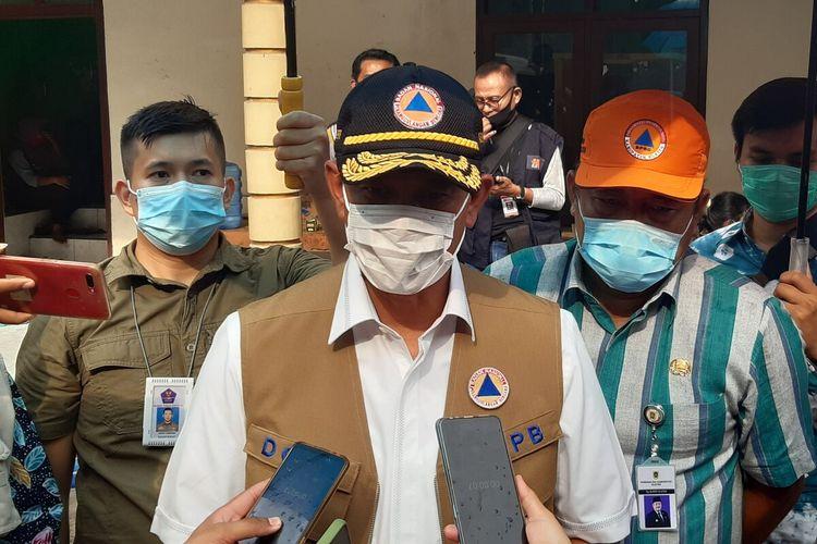 Kepala Badan Nasional Penanggulangan Bencana (BNPB) sekaligus Ketua Satgas Covid-19 Nasional, Doni Monardo di Klaten, Jawa Tengah, Kamis (19/11/2020).