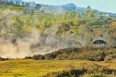 Kawah Sileri Dieng Kembali Meletus, Radius Aman 200 Meter