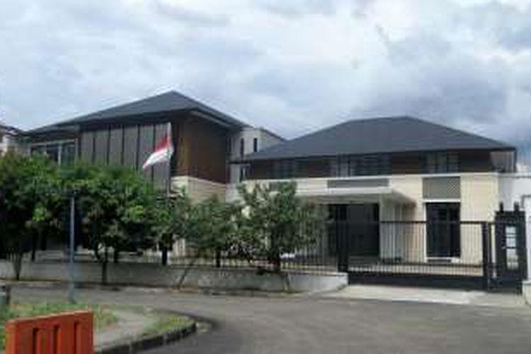 Rumah baru Presiden keenam RI Susilo Bambang Yudhoyono pemberian negara yang terletak di kawasan Mega Kuningan, Jakarta Selatan.
