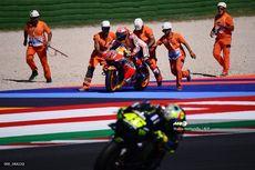 Respons Marc Marquez Ketika Valentino Rossi Tak Mau Memaafkannya